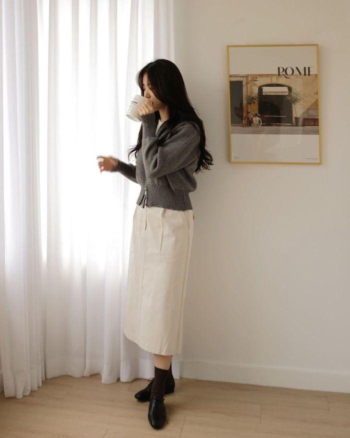 5 công thức diện chân váy mùa thu đang phủ sóng ác liệt khắp street style - Hình 15
