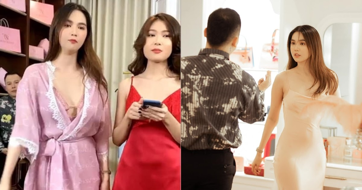 Ế show mùa dịch, Ngọc Trinh phải hớ hênh livestream bán đồ ngủ cùng Vũ Khắc Tiệp - Hình 11