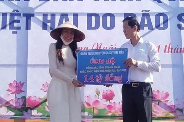 Phía ca sĩ Thuỷ Tiên cảm ơn tỉnh Hà Tĩnh xác minh đã nhận 40 tỷ - Hình 4