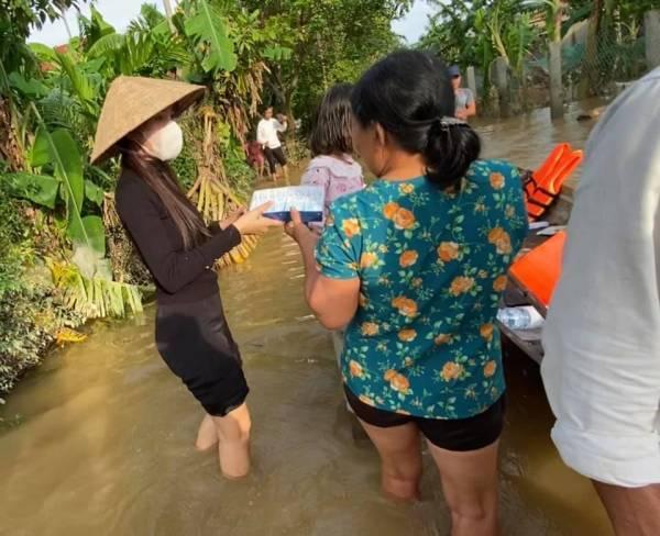 3 tỉnh cho biết khó xác nhận số tiền từ thiện của Thủy Tiên - Hình 2