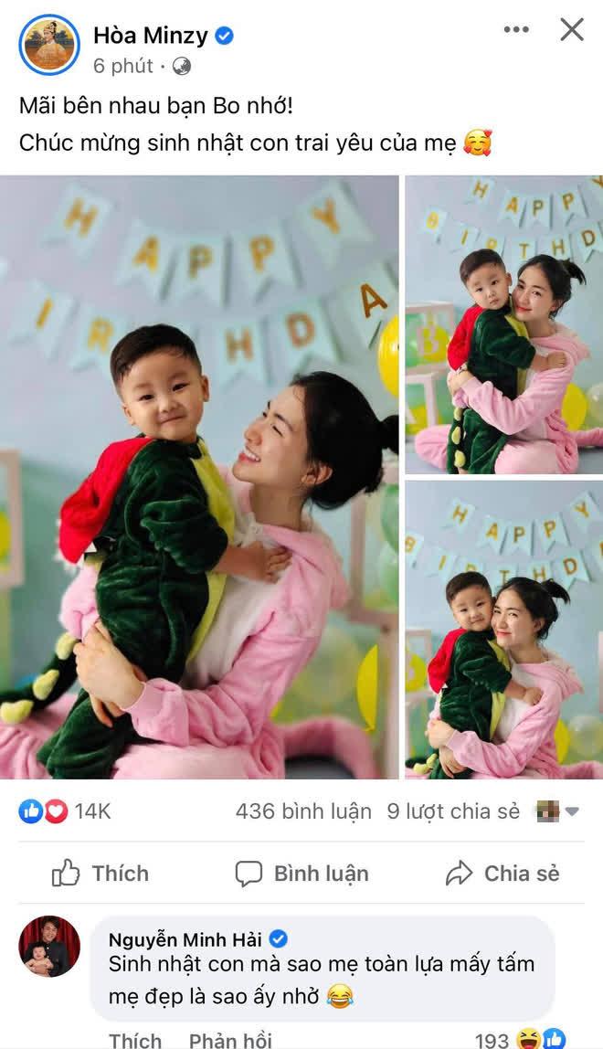Tiệc sinh nhật tròn 2 tuổi của con trai Hòa Minzy: Hé lộ không gian trang trí đầy màu sắc, bố đại gia có động thái gì? - Hình 1