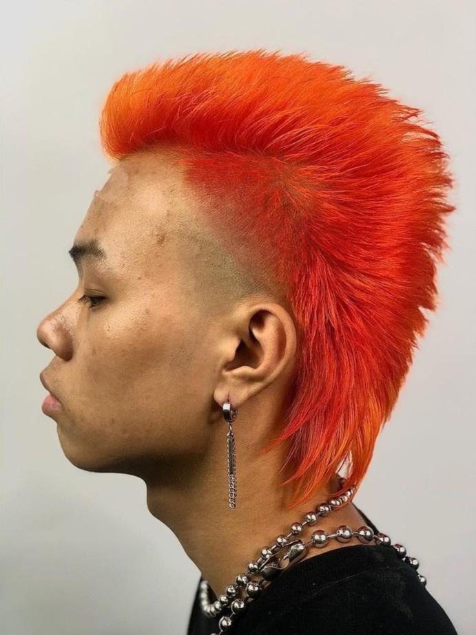 Mốt nhuộm tóc nam dịp Tết - Hình 1