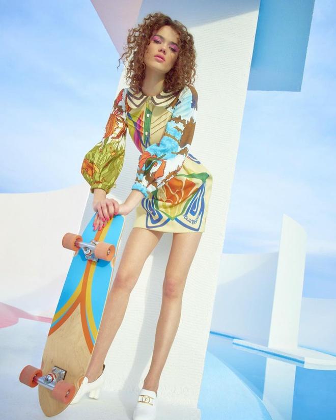 Nhan sắc tân binh cao 1,8 m của hãng nội y Victorias Secret - Hình 4