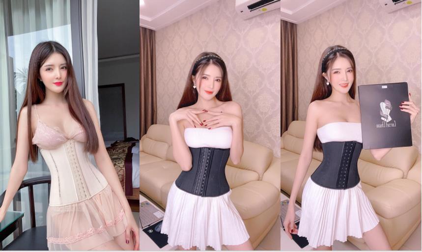 Hội chị em phát cuồng với hộp quà unbox từ Kelly Nguyễn và Lilly Luta cùng bí quyết diện corset giữ dáng chuẩn, eo thon - Hình 4