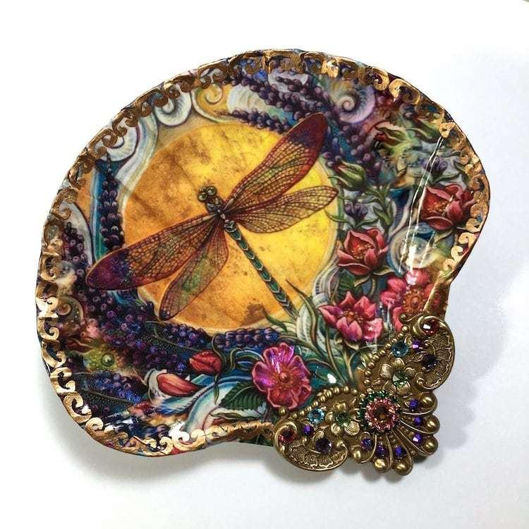 Mê mẩn ngắm nhìn loạt đồ trang sức độc đáo làm từ vỏ sò - Hình 4