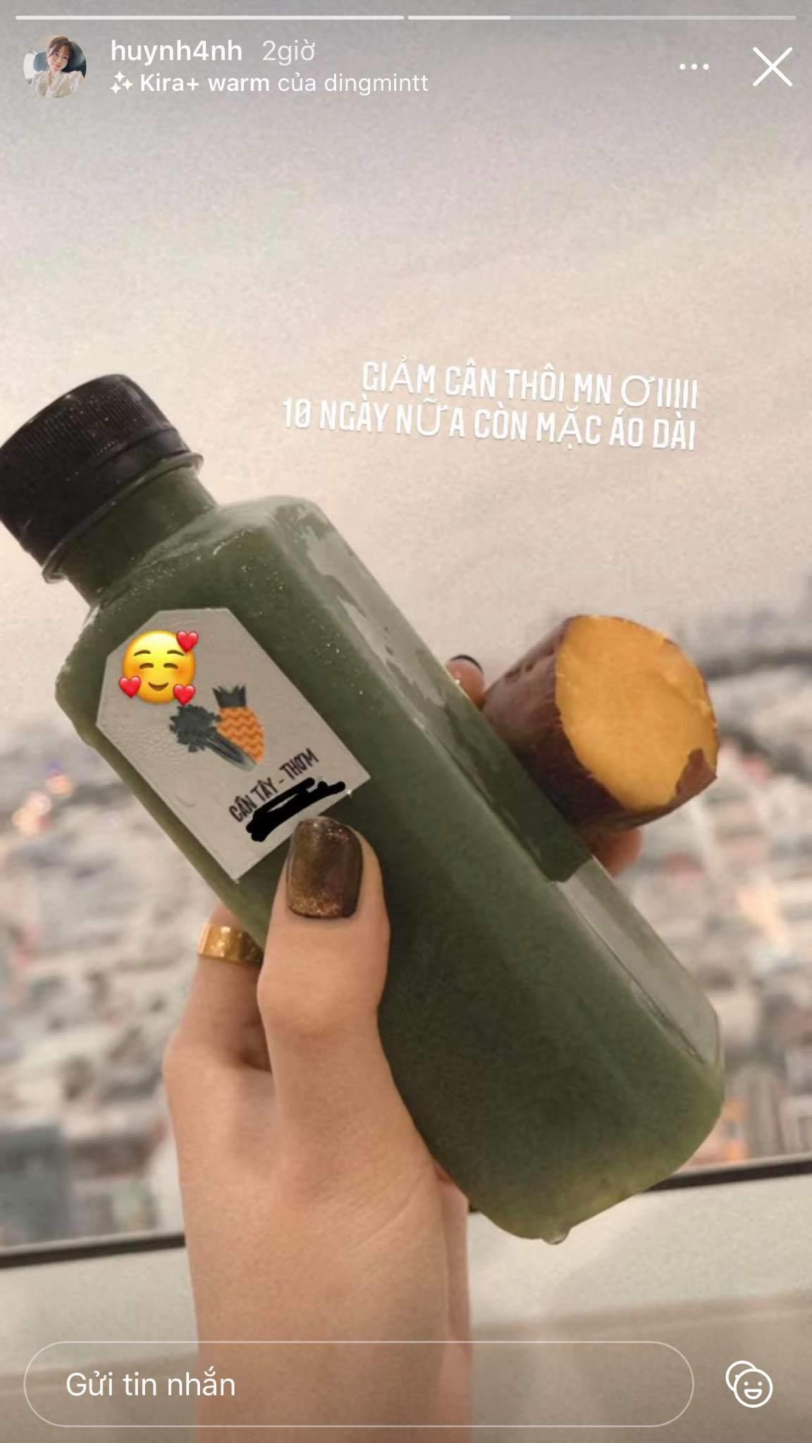 Mặt tròn vo, bạn gái cũ Quang Hải lên dây cót giảm cân đón Tết với thực đơn không ngờ - Hình 7
