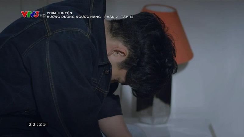 Hướng dương ngược nắng tập 42: Diễm Loan khóc nức nở, xin lỗi Trí sau khi biết con không mang dòng máu Cao gia - Hình 13
