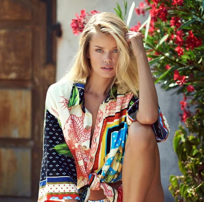 Người đẹp Na Uy Frida Aasen quyến rũ ở bờ biển thiên đường - Hình 3