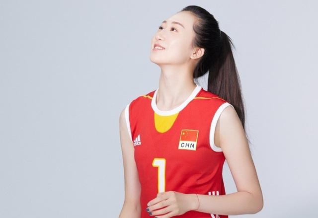 VĐV bóng chuyền xinh như thiên thần của Trung Quốc bất ngờ giải nghệ sớm - Hình 4