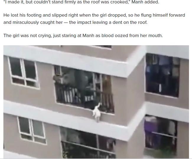 Thêm hàng loạt tờ báo lớn tại Mỹ, Nga, Hàn Quốc gọi anh Nguyễn Ngọc Mạnh là siêu anh hùng đời thực khi cứu sống bé gái 3 tuổi - Hình 2
