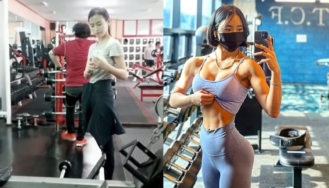 Cô gái có ngoại hình nóng bỏng nhờ tập gym - Hình 2