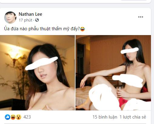 Sốc tận óc: Nathan Lee đăng ảnh trần trụi nghi của Ngọc Trinh thời quá khứ? - Hình 1