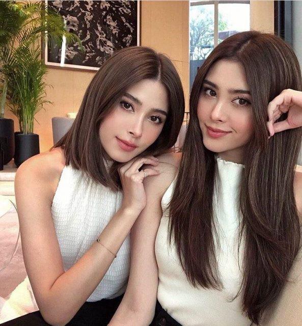 Cặp song sinh nổi tiếng Thái Lan ăn mặc cực sang chảnh - Hình 11