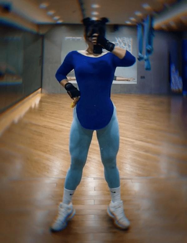 Hành trình sở hữu thân hình vạn người mê của hotgirl lực sĩ xứ Trung - Hình 2