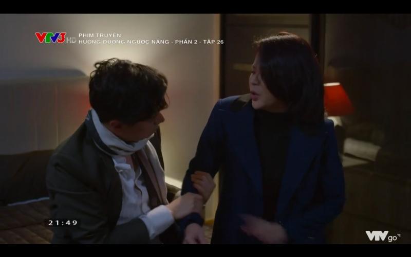Hướng dương ngược nắng: Chết cười cảnh Hoàng say mèm, vừa hôn được Minh đã lĩnh trọn rắm mít chất lượng từ mẹ vợ tương lai - Hình 7