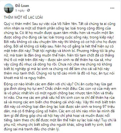 Tiếp Drama: Bà Phương Hằng chửi xối xả NB Hoàng Nguyên Vũ khi bị vạch trần: Cha mẹ sinh ra em mang nhục - Hình 3
