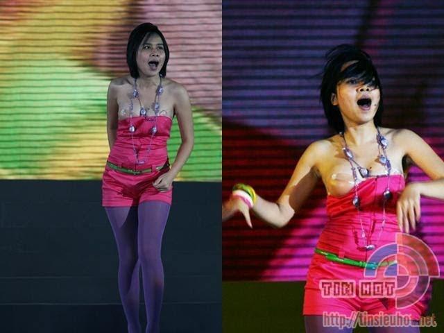 Sao Việt phơi trọn ngực trần trên sân khấu, người còn không mặc nội y - Hình 13