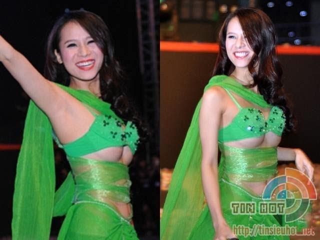 Sao Việt phơi trọn ngực trần trên sân khấu, người còn không mặc nội y - Hình 18