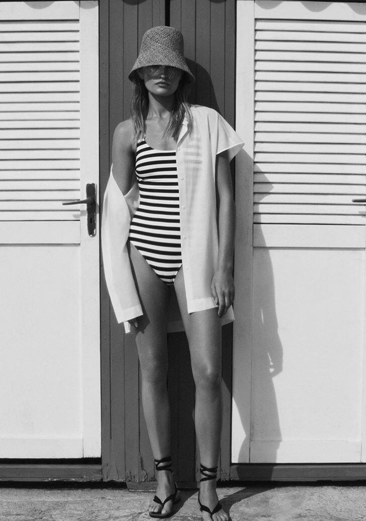 Nàng mẫu Addie Bach khoe dáng nóng bỏng với áo tắm - Hình 6
