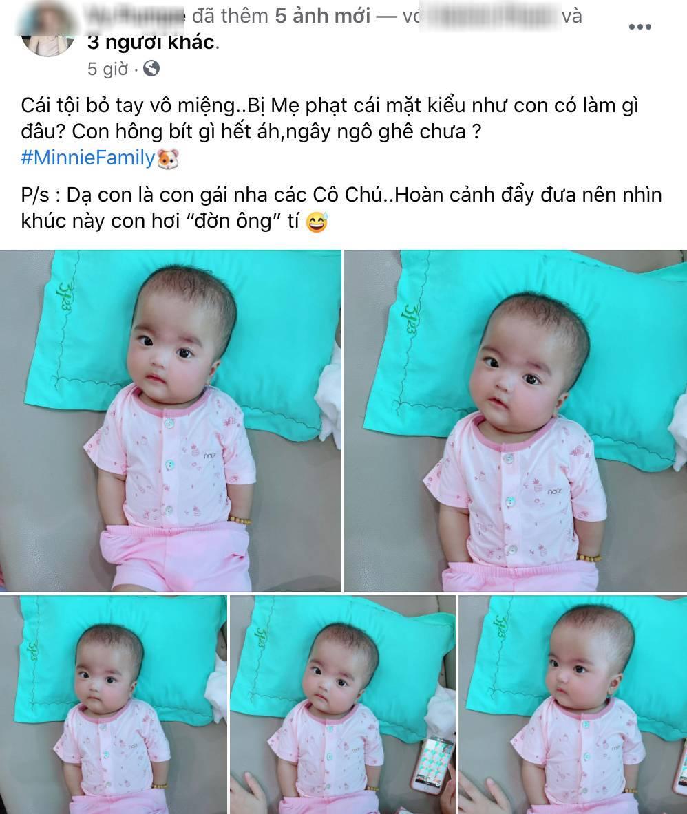 Con gái 4 tháng bị soi mói ít tóc, vợ Mạc Văn Khoa đáp trả đanh thép - Hình 4