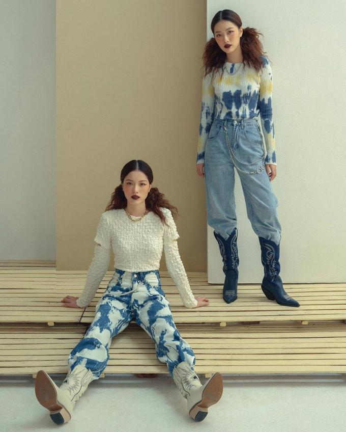 Cặp sinh đôi Gen Z đắt show mẫu ảnh nhờ mặc chất lừ, thần thái đỉnh cao - Hình 4