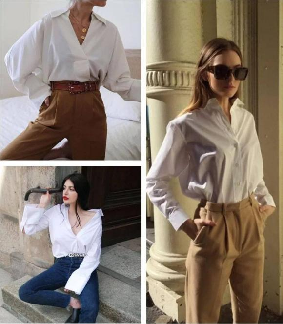 Tại sao lại nói rằng phụ nữ mặc áo sơ mi trắng trông đẹp nhất? - Hình 9