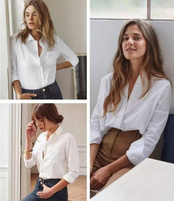 Tại sao lại nói rằng phụ nữ mặc áo sơ mi trắng trông đẹp nhất? - Hình 1