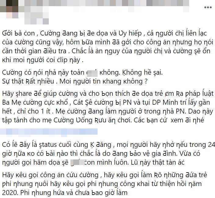 Cậu IT bức xúc clip Hồ Văn Cường xin lỗi, tố bị lừa: Ai nhờ cho đã giờ hèn để ở ké bên mẹ Nhung - Hình 5