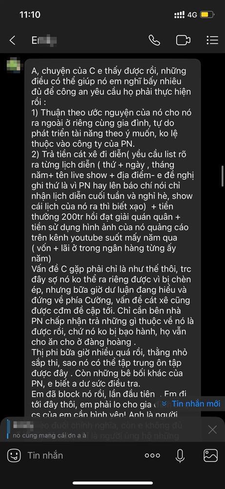 Mới nhất: Bố mẹ đẻ Hồ Văn Cường lên tiếng việc con trai bị Phi Nhung ngược đãi, tiết lộ về IT Nhâm Hoàng Khang - Hình 7