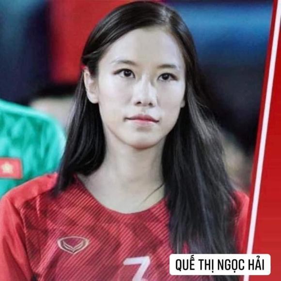 Dân mạng cười xỉu với loạt ảnh các cầu thủ đội tuyển bóng đá Việt Nam được chế ảnh thành con gái - Hình 7