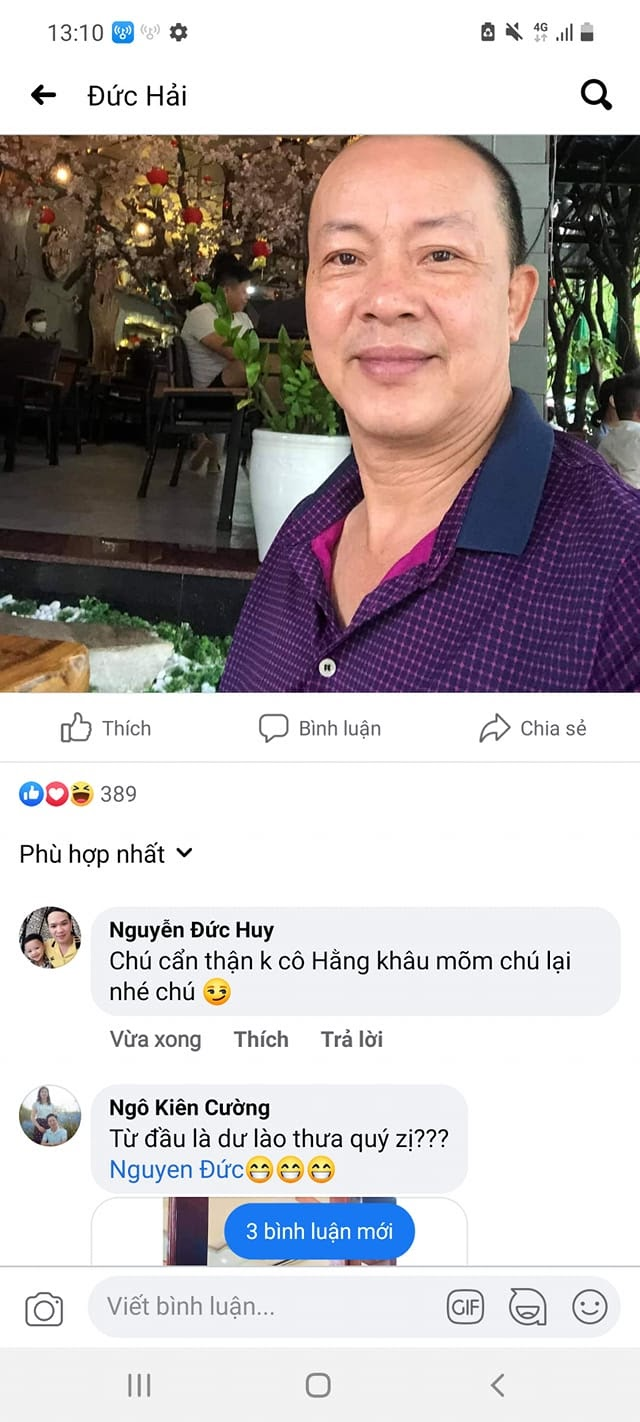 BIẾN CĂNG: Bà Phương Hằng bị nghệ sĩ Đức Hải xúc phạm nặng nề, gọi là con điên - Hình 3