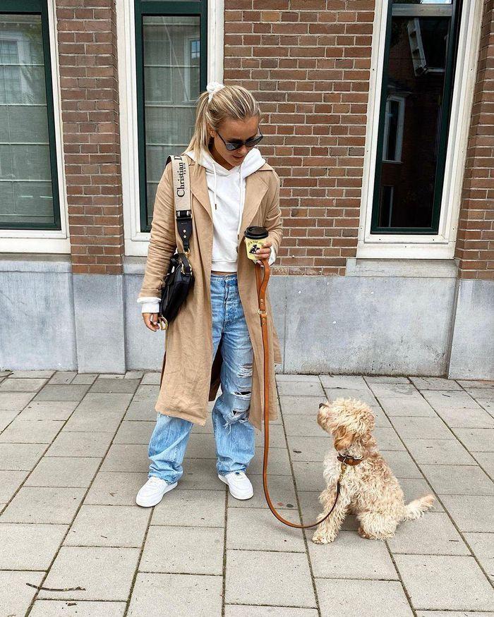 Nàng WAG tuyển Hà Lan có gu mặc sành điệu - Hình 4