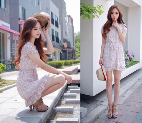 Vào mùa hè, váy là thứ không thể thiếu! Mặc 6 kiểu váy tiểu thư này, khí chất thanh lịch không mời mà đến - Hình 2