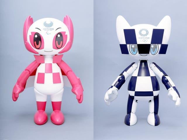Đội quân robot hỗ trợ Thế vận hội Tokyo
