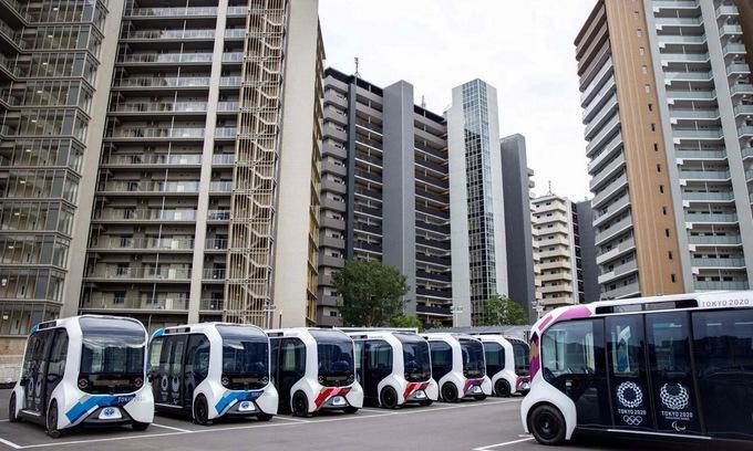 Nhật Bản phô diễn sức mạnh công nghệ qua Olympic Tokyo