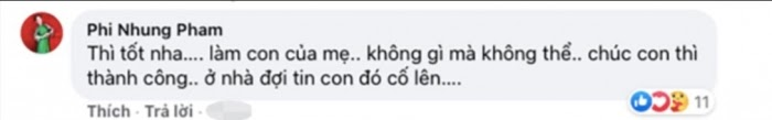Phi Nhung gửi lời chúc đến con trai Hồ Văn Cường: Thi tốt nha, làm con của mẹ, không gì mà không thể - Hình 3