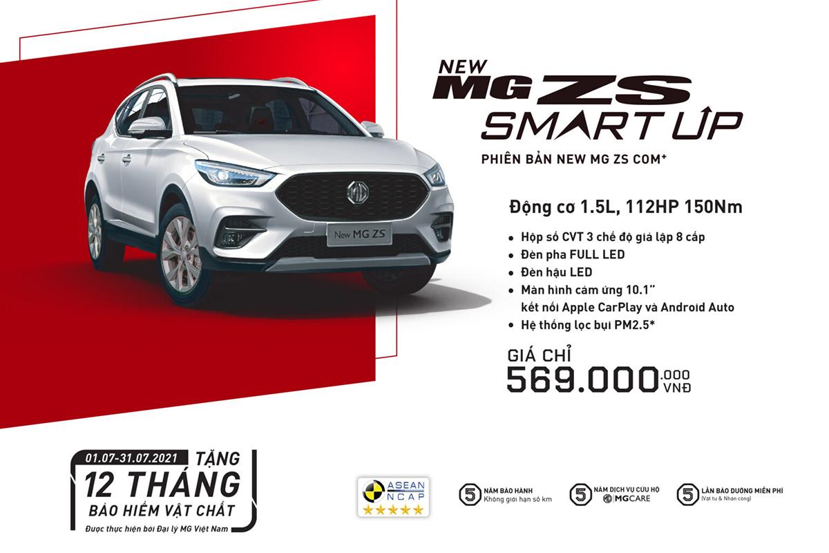 Bảng giá xe MG tháng 7/2021: Tất cả sản phẩm đều nhận được ưu đãi - Hình 2