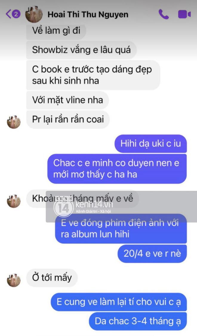 Độc quyền: Vy Oanh tung bằng chứng tố Thu Hoài nói dối trắng trợn, làm cho ra nhẽ nghi vấn yêu sách trở mặt đòi cát-xê - Hình 2