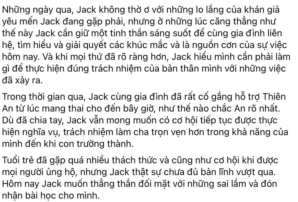 Hứa Minh Đạt và sao Việt động viên Jack giữa scandal - Hình 2
