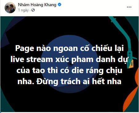 IT Nhâm Hoàng Khang gọi tên cúng cơm bà P.Hằng, nói rõ việc đánh sập livestream ông Dũng lò vôi - Hình 5