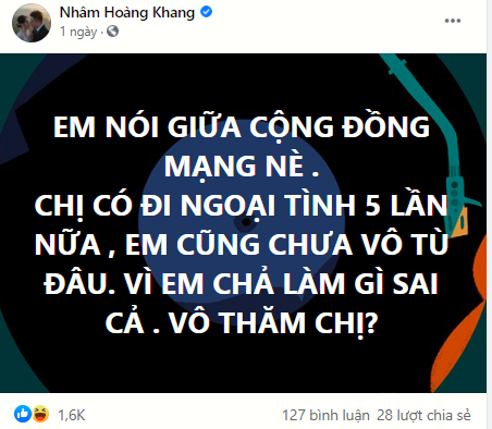 IT Nhâm Hoàng Khang gọi tên cúng cơm bà P.Hằng, nói rõ việc đánh sập livestream ông Dũng lò vôi - Hình 8