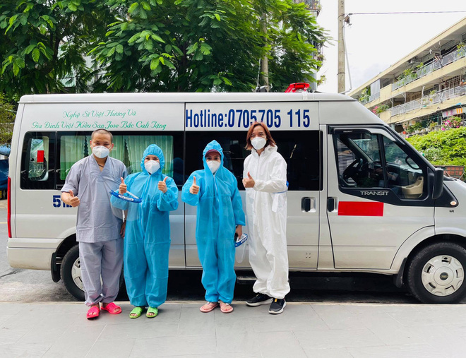 Việt Hương lên tiếng việc người bệnh xài bình oxy không trả lại còn đem bán, gây khó khăn cho đội từ thiện giữa mùa dịch - Hình 5