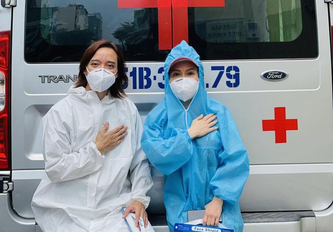 Việt Hương lên tiếng việc người bệnh xài bình oxy không trả lại còn đem bán, gây khó khăn cho đội từ thiện giữa mùa dịch - Hình 4