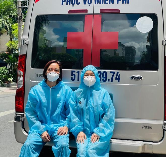 Việt Hương: 'Vợ chồng tôi không thể xoay xở nếu không có các chiến sĩ' - Hình 3