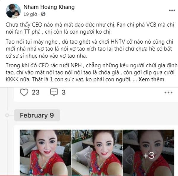 Nhâm Hoàng Khang tung loạt tin nhắn riêng tư với bà Phương Hằng: Nữ CEO mua vest tặng gymer Duy Nguyễn, bị dặn coi chừng giống ông Yên - Hình 3