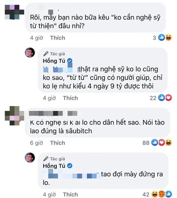 Nghe quản lý nghệ sĩ Huỳnh Lập mỉa mai không có nghệ sĩ không ai làm từ thiện miền Trung, bà chủ Đại Nam đáp trả một câu như thử thách IQ - Hình 1