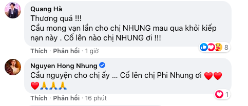 Người thân mất ngủ, loạt sao Việt lo lắng cho tình hình sức khỏe của Phi Nhung - Hình 3