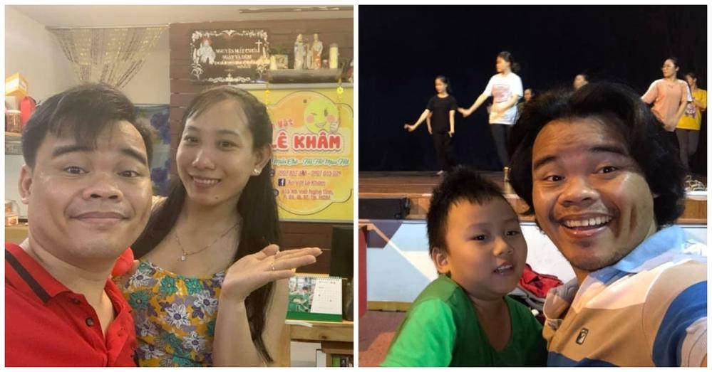 Cuộc sống của diễn viên cao 1m48 Lê Khâm, làm tình nguyện mùa dịch - Hình 3