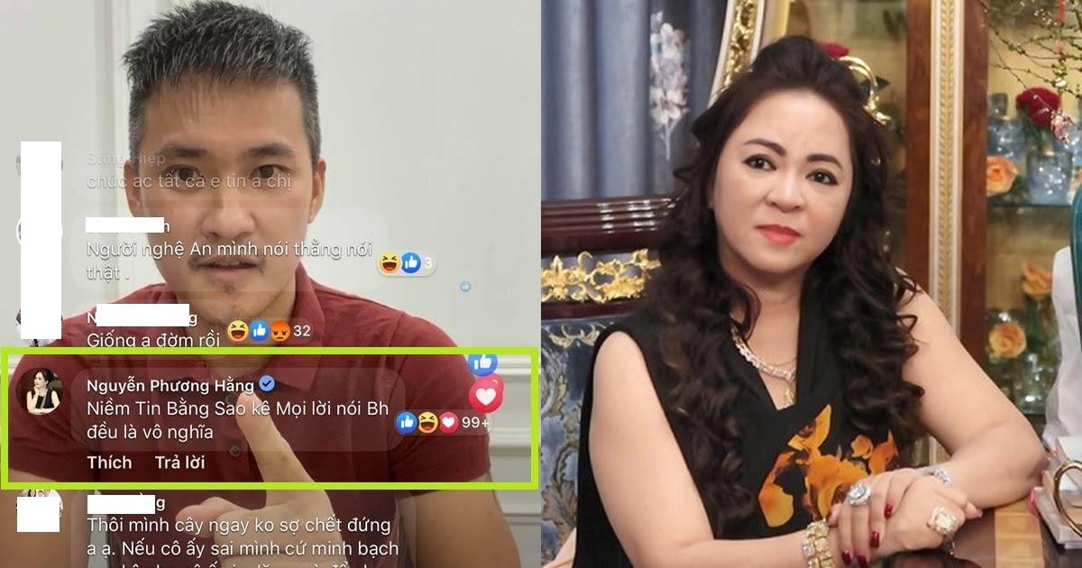 Bị Công Vinh thách thức, bà Phương Hằng vào thẳng livestream bình luận 1 câu gây chấn động - Hình 3