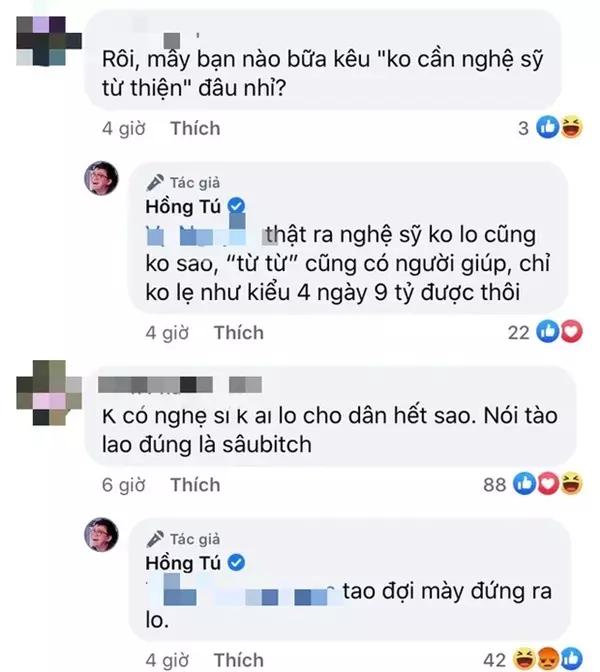 Hồng Tú - quản lý Huỳnh Lập bị bóc phốt chuyện giường chiếu, gây tranh cãi vì phát ngôn từ thiện - Hình 4